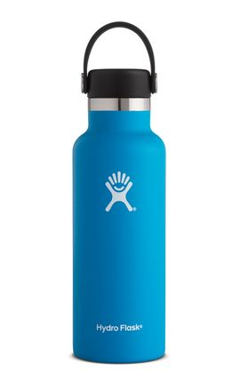 TERMO 16 OZ PACIFIC [473 ML AZUL] WIDE MOUTH WITH FLIP LID -HYDRO FLASK