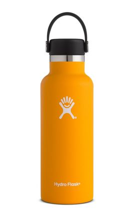 TERMO 16 OZ MANGO [473 ML AMARILLO] WIDE MOUTH WITH FLIP LID -HYDRO FLASK