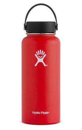 TERMO 32 OZ LAVA [946 ML ROJO] WIDE MOUTH WITH FLEX CAP -HYDRO FLASK