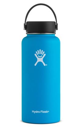 TERMO 32 OZ PACIFIC [946 ML AZUL] WIDE MOUTH WITH FLEX CAP -HYDRO FLASK