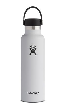 TERMO 21 OZ WHITE [621 ML BLANC] STANDARD MOUTH W/STANDARD FLEX CAP -HYDRO FLASK