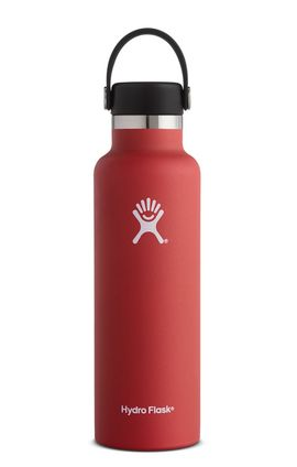 TERMO 21 OZ LAVA [621 ML ROJO] STANDARD MOUTH W/STANDARD FLEX CAP -HYDRO FLASK