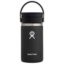 TERMO COFFE 12 OZ  [354 ML BLACK] WIDE MOUTH FLEX SIP LID -HYDRO FLASK