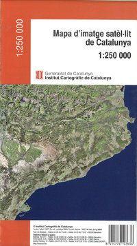 MAPA D'IMATGE SATEL·LIT DE CATALUNYA 1:250.000 -ICGC