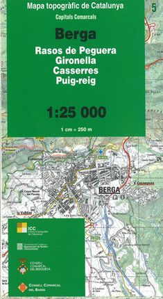05 BERGA 1:25.000 -ICGC