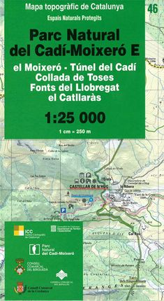 46 PN DEL CADI-MOIXERO E 1:25.000 -ICC