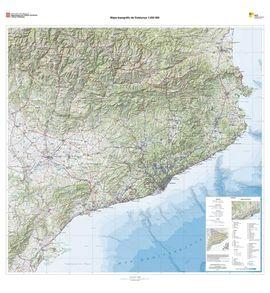 CATALUNYA [RELLEU] 1:250.000, MAPA TOPOGRAFIC DE -ICC