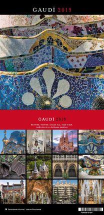 2019 GAUDI [CALENDARI TAULA]