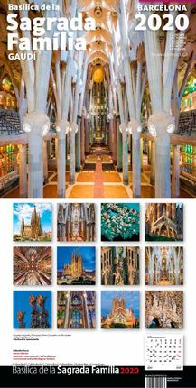2020 SAGRADA FAMILIA [CALENDARI] -TRIANGLE POSTALS