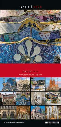 2020 GAUDI [CALENDARI TAULA] -TRIANGLE POSTALS