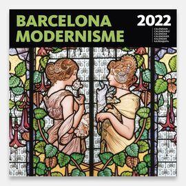 2022 BARCELONA MODERNISME -CALENDARI 30 X 30