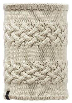 101061 SAVVA -NECKWARMER KNITTED & POLAR BUFF