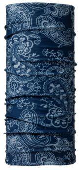 11586 AFGAN BLUE -TUBULAR BUFF