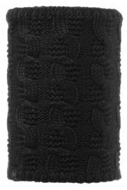 107933 ZOILO BLACK -NECKWARMER KNITTED & POLAR BUFF