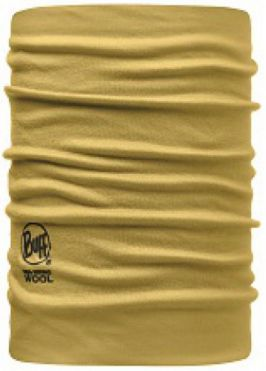 108825 MERINO WOOL NECKWARMER/CLAY -BUFF