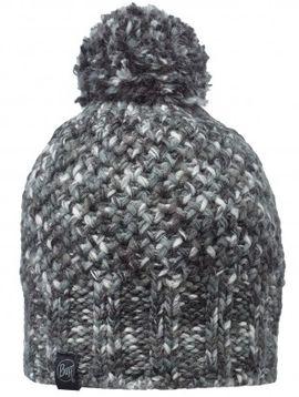 111015.937 KNITTED HAT BUFF/MARGO GREY- BUFF