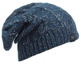 111020.788 KNITTED HAT BUFF/GYMMER DENIM- BUFF