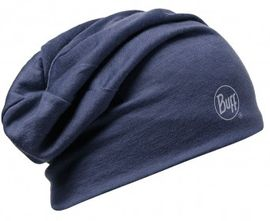 111174.788 MERINO WOOL 2 LAYERS HAT/SOLID DENIM- BUFF