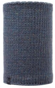 111054 KNITTED & POLAR NECKWARMER/LILE -BUFF