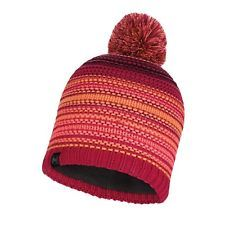 113586.559 KNITTED & POLAR HAT NEPER BRIGHT PINK -BUFF