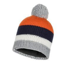 117842.555 CHILD KNITTED & POLAR HATKNUTMULTI -BUFF