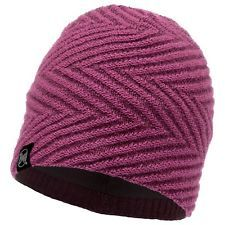 117858.605 KNITTED & POLAR HAT SILJA PURPLE -BUFF