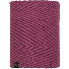117860.605 KNITTED & POLAR NECKWARMER SILJA PURPLE -BUFF