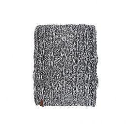 117872.301 KNITTED NECKWARMER COMFORT LIV PEBBLE GREY -BUFF