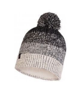 120855.937 KNITTED & POLAR HAT MASHA GREY -BUFF