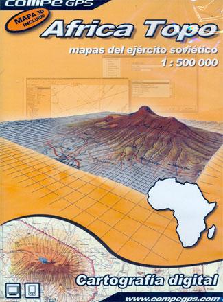 AFRICA TOPO 1:500.000 CARTOGRAFIA DIGITAL -COMPE GPS