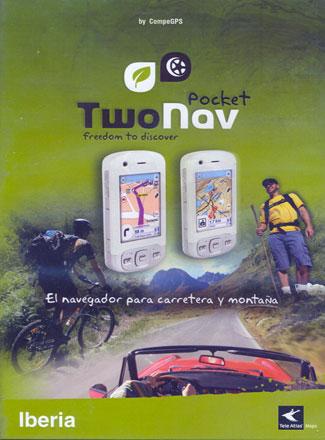 TWONAV. POCKET IBERIA + ESPAÑA TOPO 1:25.000 -COMPE
