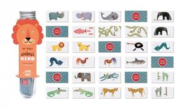 MG002 MICRO MEMO ANIMALS (MEMORY GAME)- LONDJI