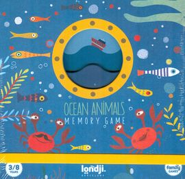 OCEAN ANIMALS. MEMORY GAME -LONDJI [DI006]