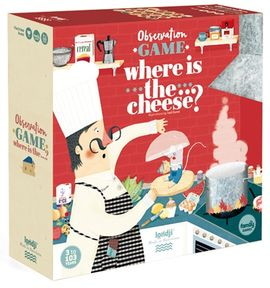 WHERE IS THE CHEESE? -FG010U
