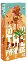 GO TO THE PYRAMIDS. PUZZLE -LONDJI