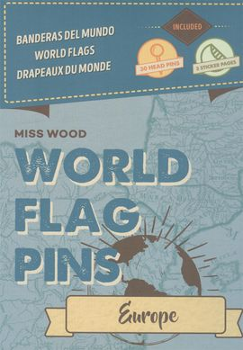 EUROPE [CAJA] -WORLD FLAG PINS -MISS WOOD