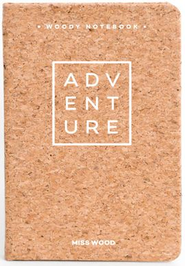 ADVENTURE A6 WOODY NOTEBOOK CORK [LIBRETA TAPAS DE CORCHO] -MISS WOOD