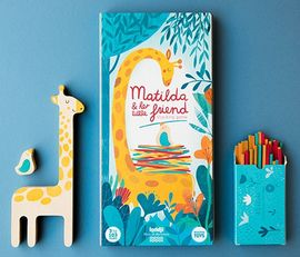 MATILDA & HER LITTLE FRIEND. STACKING GAME -LONDJI
