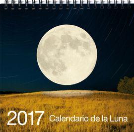 2017 CALENDARIO DE LA LUNA