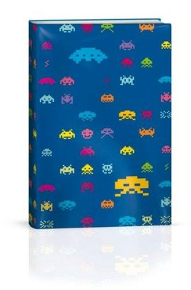 FUNDA PARA LIBRO SPACE INVADERS