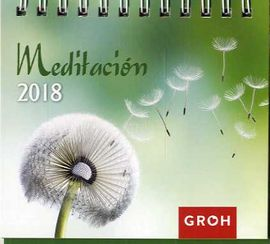 2018 MEDITACIÓN. MINICALENDARIO -GROH