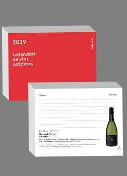 2019 CALENDARI DE VINS CATALANS -TACO