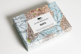 MAPS -LETTER WRITING SET