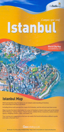 ISTANBUL -WORLD CITY MAP -THE BEETLE MAP