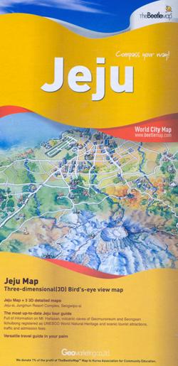 JEJU -WORLD CITY MAP -THE BEETLE MAP