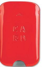 AL DA-007 ROJO. CARD COVER.  TARJETERO PERSONAL
