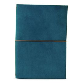 GRAND VOYAGEUR PASSPORT [LIBRETA] PETROL BLUE/ORANGE RIBBON A6 [10X15] -PAPER REBUBLIC