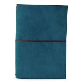 GRAND VOYAGEUR XL [LIBRETA] PETROL BLUE/RED RIBBON A5 [15X21] -PAPER REBUBLIC