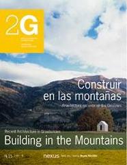 2G CONSTRUIR EN LAS MONTAÑAS -REVISTA