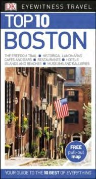 BOSTON [ENG] -TOP 10 EYEWITNESS TRAVEL GUIDE